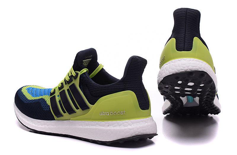 Adidas Energy Boost 3 heren hardloop sneakers donkerblauw/groen