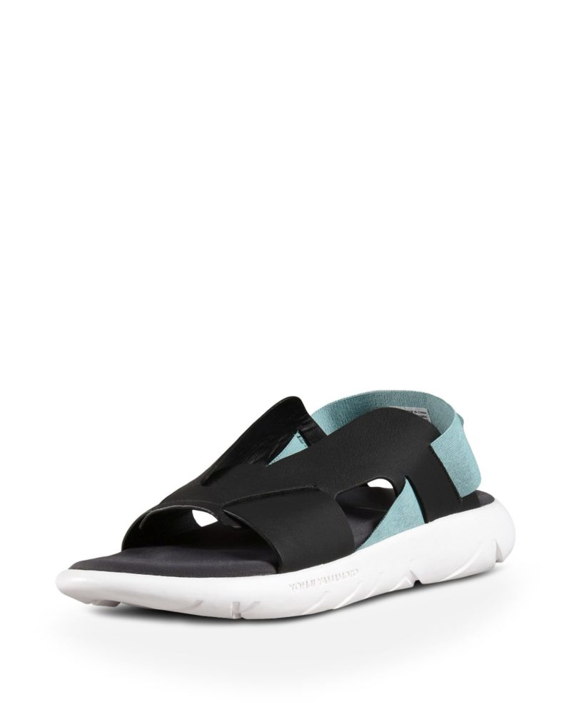 Yohji Yamamoto y-3 qasa elle sandalen zwart/blauw -1
