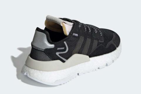 Adidas nite jogger sneakers zwart/wit
