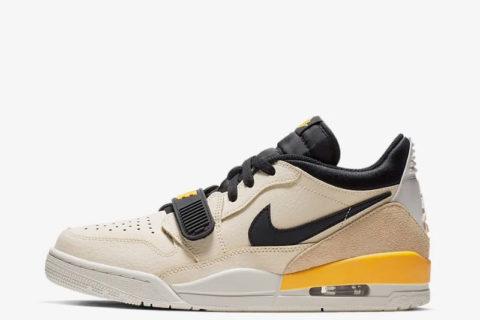 Nike air jordan legacy 312 heren sneakers beige/zwart