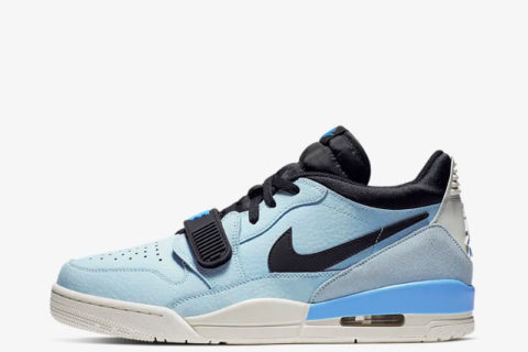 Nike air jordan legacy 312 sneakers blauw/wit