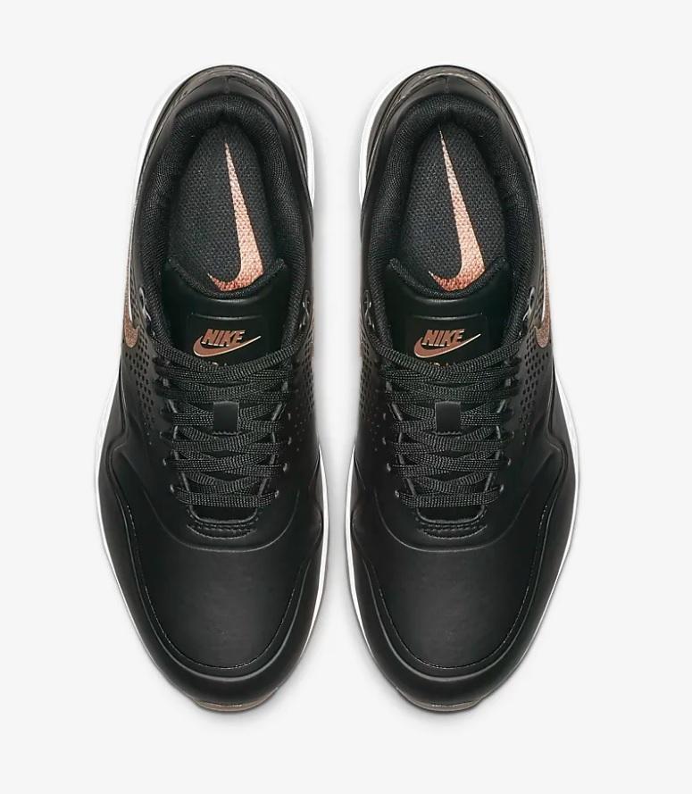 Nike air max 1 g dames sneakers zwart/wit