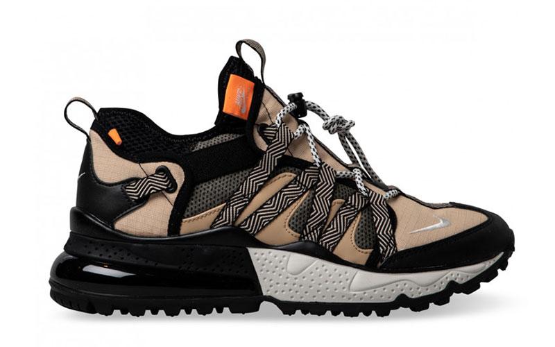 Nike air max 270 bowfin sneakers beige/zwart