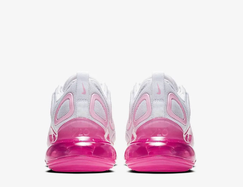 Nike air max 720 dames sneakers wit/roze
