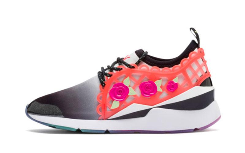 Puma X sophia webster dames sneakers zwart/oranje