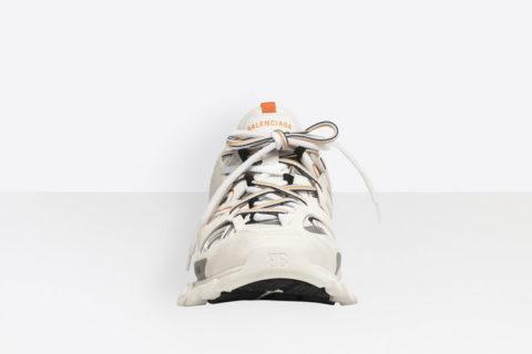 Balenciaga track trainers sneakers wit/oranje