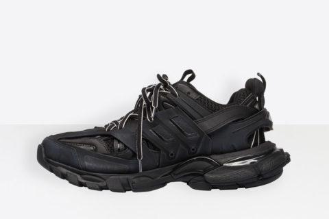 Balenciaga track trainers sneakers zwart