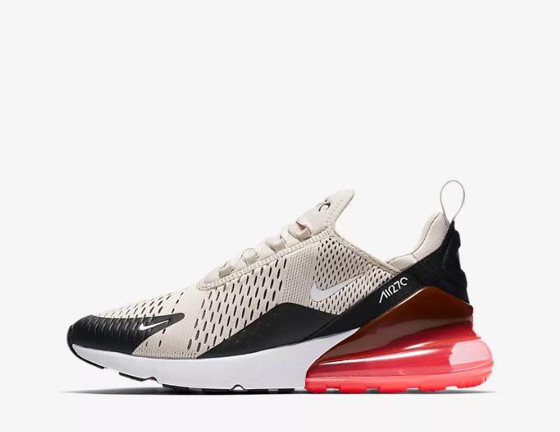 Nike air max 270 heren sneakers beige/zwart