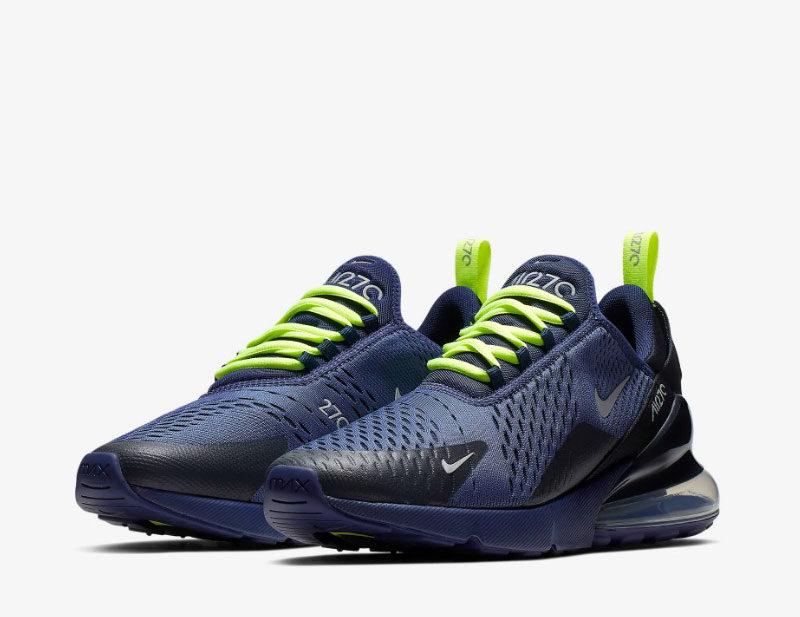 Nike air max 270 heren sneakers donkerblauw