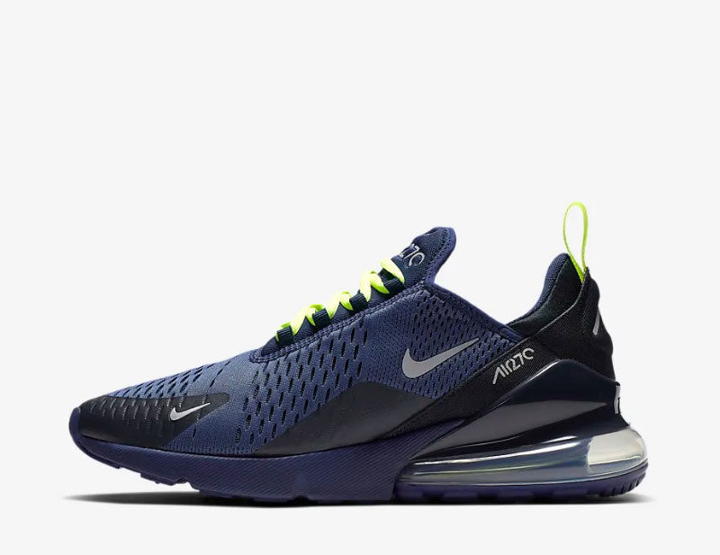 Nike air max 270 heren sneakers donkerblauw