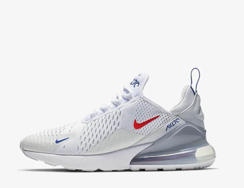 Nike air max 270 heren sneakers wit/grijs