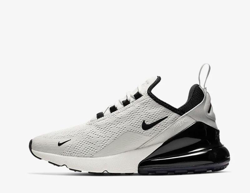 Nike air max 270 sneakers grijs/zwart