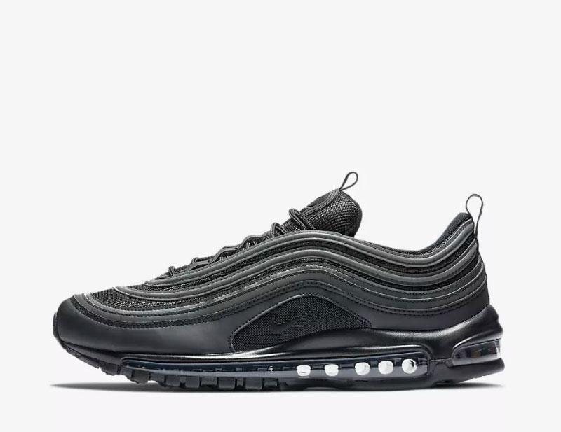 Nike air max 97 sneakers zwart/grijs