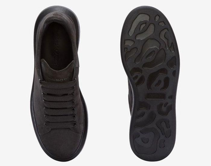 Alexander Mcqueen oversized sneakers grijs/zwart