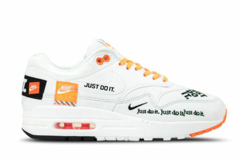 Nike air max 1 lux sneakers wit