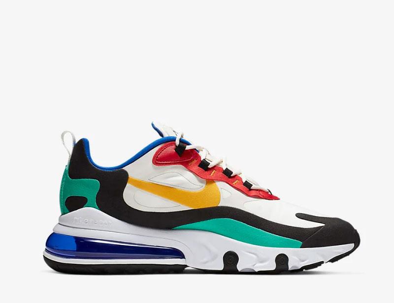 Nike air max 270 react sneakers multicolor