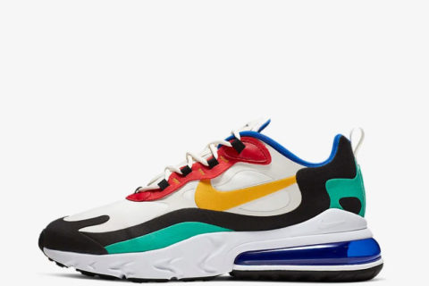 Nike air max 270 react sneakers multicolor