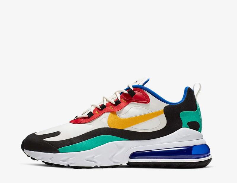 Metro Lograr Secretario  Nike air max 270 react sneakers multicolor vind je in Sneakerstad