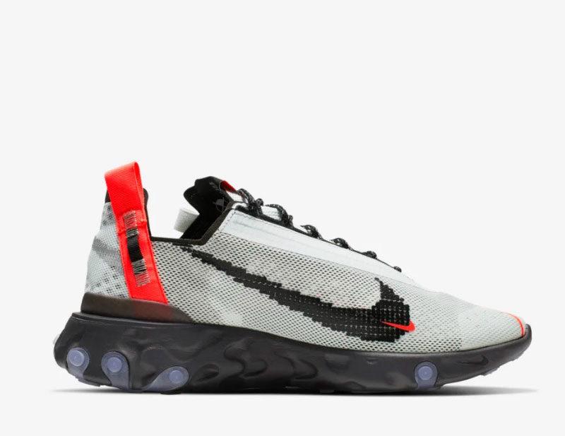 Nike ispa react sneakers wit/grijs