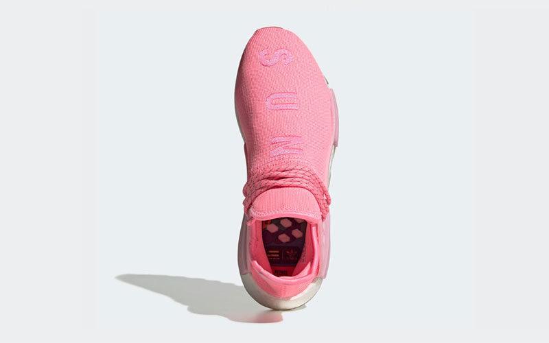 Adidas Pharrell Williams hu nmd proud dames sneakers roze