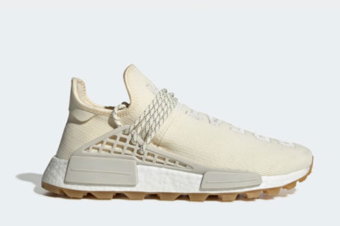 Adidas Pharrell Williams hu nmd proud sneakers crème wit