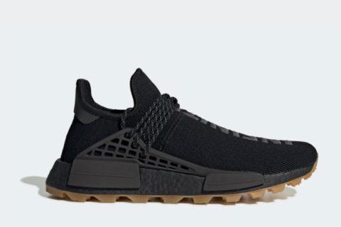 Adidas Pharrell Williams hu nmd proud sneakers zwart