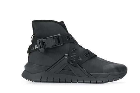 Balmain b-troop sneakers zwart