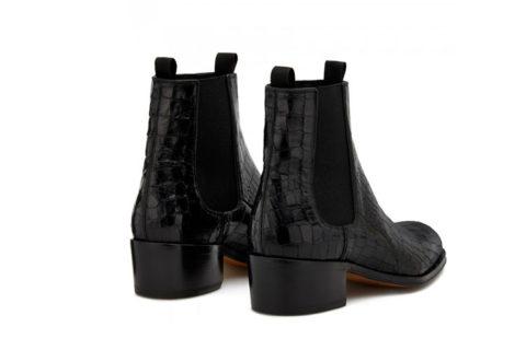 Giuseppe Zanotti abbey heren laarzen zwart