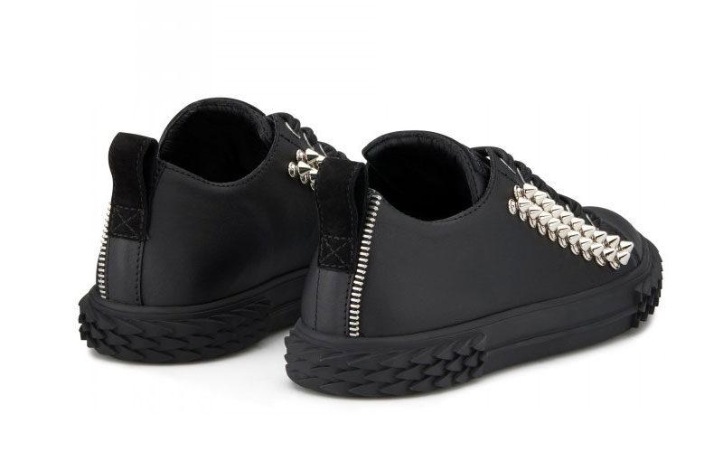 Giuseppe Zanotti lage blabber sneakers zwart