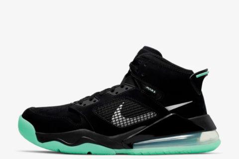 Nike air jordan mars 270 sneakers zwart/groen