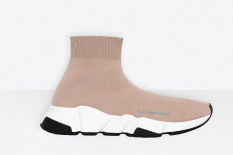 Balenciaga speed trainers dames sneakers beige/wit