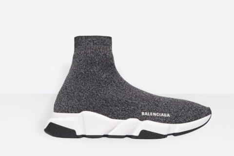 Balenciaga speed trainers heren sneakers zwart/wit