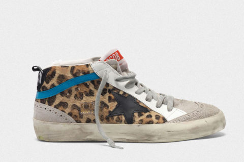 Golden Goose mid star dames sneakers bruin
