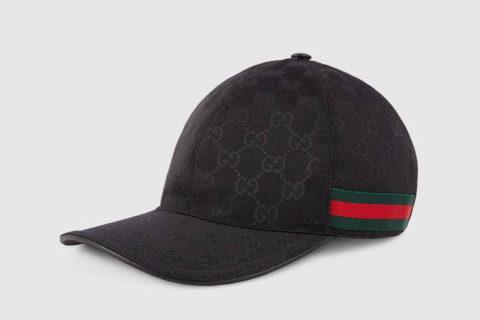 Gucci orginal gg honkbalpet zwart