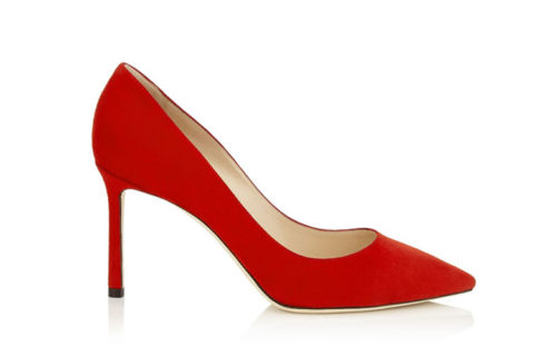 Jimmy Choo romy 85 dames pumps rood