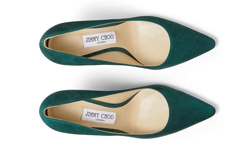 Jimmy Choo romy 100 dames pumps groen