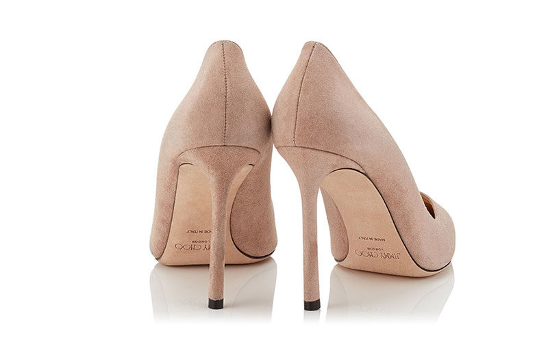 Jimmy Choo romy 100 dames pumps lichtroze