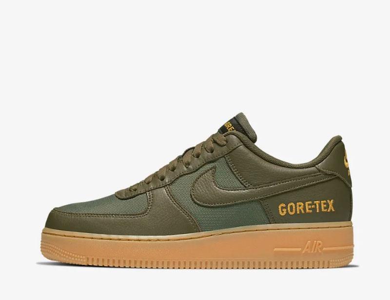 Nike air force 1 gore tex sneakers groen