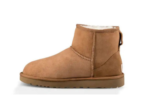 UGG Australia ® classic mini II dames laarzen chestnut