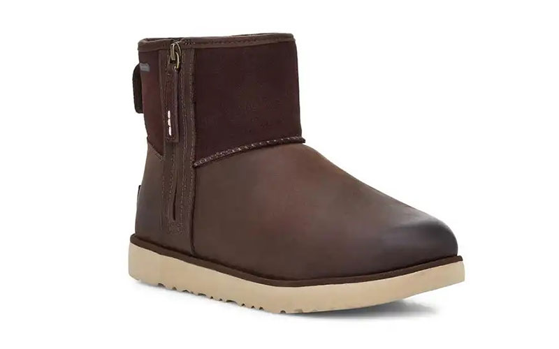 UGG Australia ® classic mini zip waterproof heren laarzen stout