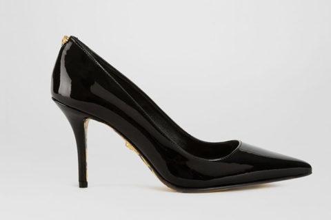 Versace barocco dames pumps zwart