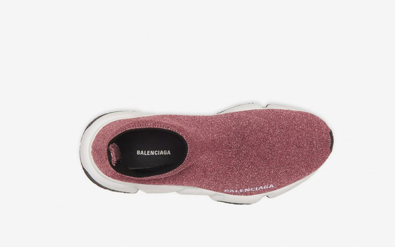 Balenciaga speed trainers dames sneakers paars/wit - 03