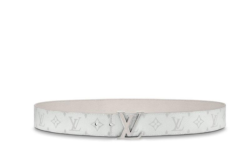 Louis Vuitton lv initiales 40mm reversible riem wit
