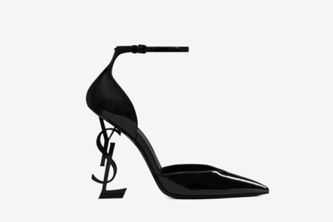 Yves Saint Laurent opyum d´orsay dames pumps zwart - 01