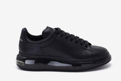 Alexander Mcqueen oversized heren sneakers zwart - 02