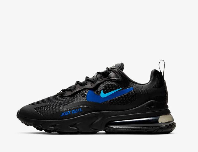 Nike air max 270 react heren sneakers zwart