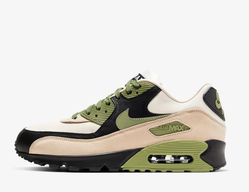 Nike air max 90 sneakers larah escape sneakers groen/zwart