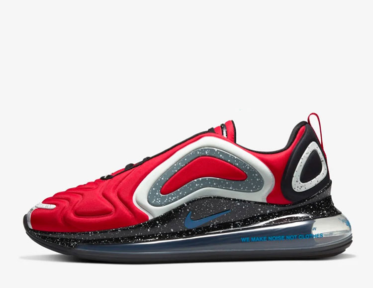 Nike air max 720 x undercover sneakers rood