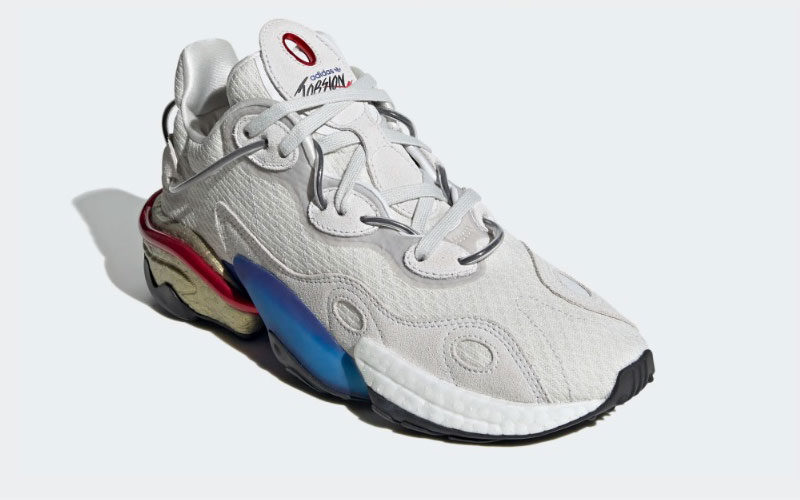 Adidas torsion x sneakers grijs