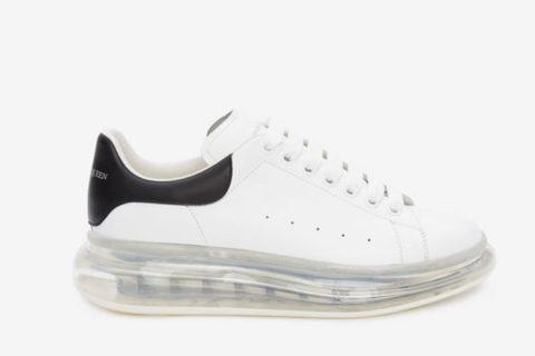 Alexander McQueen oversized sneakers wit/zwart - 05